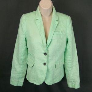 3 for $10-- J. Crew Size 4 Linen Blazer